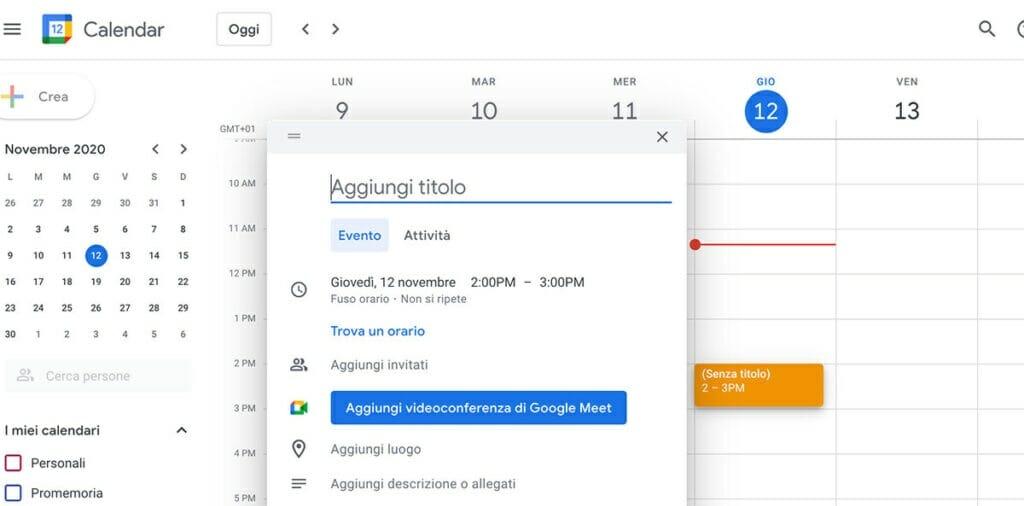 come si usa google meet tutorial italiano